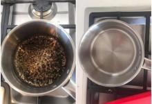 Rửa sạch nồi, chảo bị cháy chỉ bằng 1 mẹo nhỏ mà không cần cọ rửa
