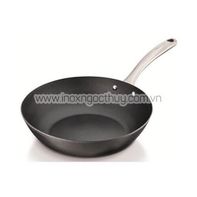 Quánh inox không dính 20cm Wok (BC7A) - inoxngocthuy.com