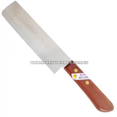 Dao làm bếp cán gỗ - inoxngocthuy.com