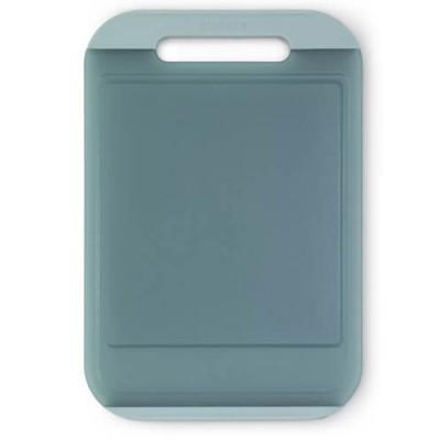 Thớt nhựa 25x37cm màu xanh nhạt - inoxngocthuy.com