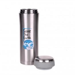 Bình giữ nhiêt Save the earth 450ml