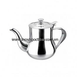 Bình trà eo inox