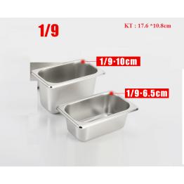 Khay đựng thức ăn 1/9 sâu 6,5cm (304)