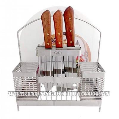 Kệ dao thớt MC inox 304 bởi www.inoxngocthuy.com