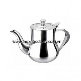 Bình trà eo inox 18