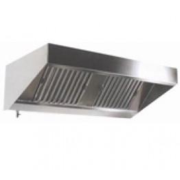 Máng chụp hút khói inox (dùng trong bếp công nghiệp)