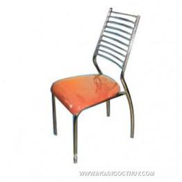 Ghế dựa inox cố định mặt nệm vải GCD30