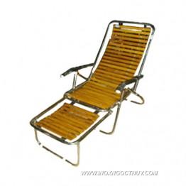 Ghế dựa nan gỗ inox X.Hòa