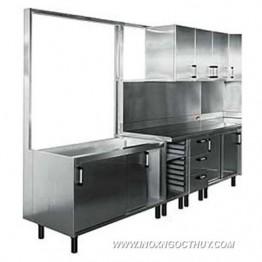Tủ bếp công nghiệp 01