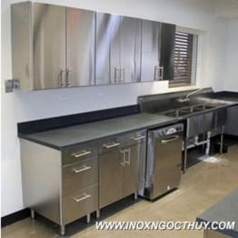 Tủ bếp inox 32