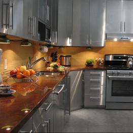 Tủ bếp inox 34