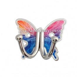 Móc áo inox bướm hình