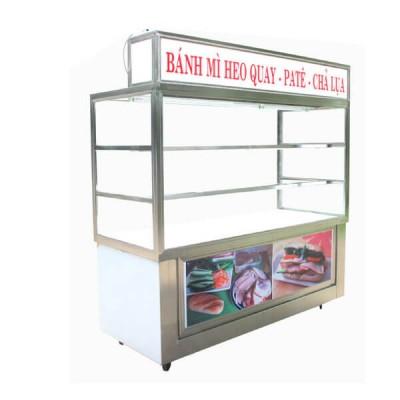 Tủ bán bánh mì - inoxngocthuy.com