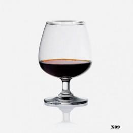 Ly rượu bóng đèn lớn X09 (255ml)