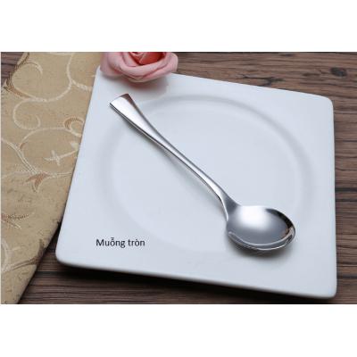 Muỗng súp tròn inox 304 (Milan) - inoxngocthuy.com