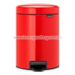 Thùng rác 5L Pedal đỏ (BR56R)